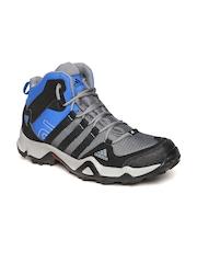 Adidas Men Grey AX2 MID Trekking Shoes