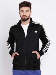 Adidas Black ESS 3S Training Jacket