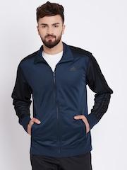 Adidas Navy ESS 3S AOP Track Jacket
