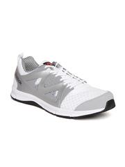 Reebok Men White & Grey Supreme Running Shoes