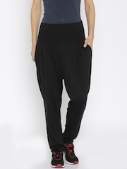 PUMA Black High-Rise Relaxed Fit Drapey Lounge Pants 59149401