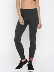 Puma Charcoal Grey Heather-1645153 Leggings