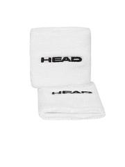 Head Unisex White Wristbands
