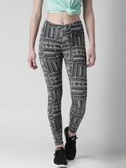 Nike Grey Melange AS NSW LEG-A-SEE AOP2 Printed Tights