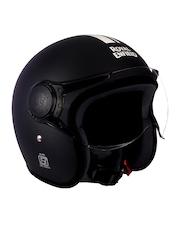 Royal Enfield Black Open Face Helmet