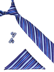 Tossido Men Blue Accessory Gift Set
