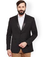 Alvin Kelly Black Single-Breasted Tuxedo Blazer