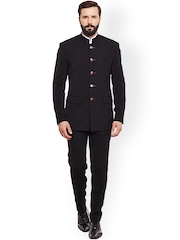 Alvin Kelly Black Single-Breasted Formal Suit