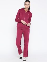 Monte Carlo Wine-Coloured Hooded Tracksuit