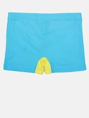 LOBSTER Boys Blue & Yellow Colourblocked Swim Shorts 4058333102218