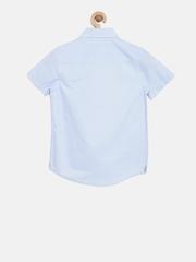 Indian Terrain Boys Blue Striped Shirt
