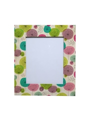 RANGRAGE Multicoloured Hand-Painted Floral Sauna Photo Frame
