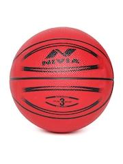 NIVIA Kids Red Europa Printed Basketball