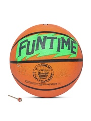 COSCO Unisex Orange Funtime Printed Basketball