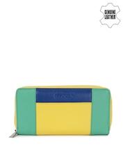 Fastrack Women Multi-Coloured Colourblocked Genuine Leather Wallet