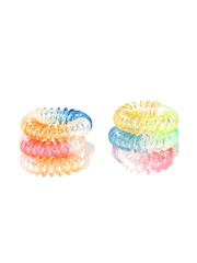 Accessorize Set of 6 Telephone Cord Hairbands