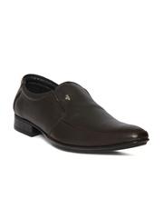Provogue Men Brown Leather Slip-Ons