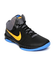 190722f881da Nike Men Black Air Visi Pro VI Basketball Shoes available at Myntra for Rs .3477