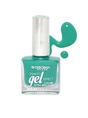 Deborah Milano Smalto Gel Effect Palm Green Maxipennello Nail Polish 50