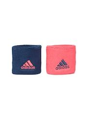 Adidas Unisex Set of 2 Ten S Wristbands