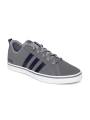 Adidas NEO Men Grey Solid Pace VS Sneakers