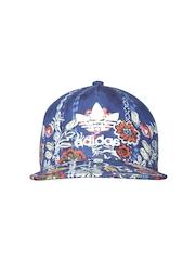 Adidas Originals Women Blue Cirandeira Floral Print Cap