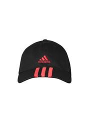 Adidas Unisex Black ESS 3S I Cap