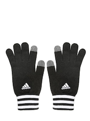 Adidas Unisex Black ESS 3S Touchscreen Compatible Gloves