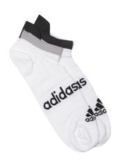 Adidas Unisex White R L N-SHOW T1P Ankle-Length Running Socks