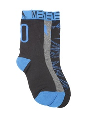 Adidas Unisex Set of 3 Messi K Above Ankle-Length Socks