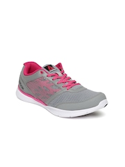 Reebok Women Grey & Pink Cardio Workout Training Shoes