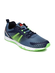 Reebok Men Blue Printed Blaze Running Shoes