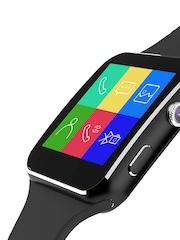 Noise Edge Unisex Black Smartwatch