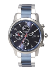 Daniel Klein Exclusive Men Navy Multifunction Dial Watch DK10997-4