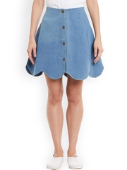 Rider Republic Blue Denim A-Line Skirt
