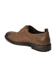 Levi's Men Tan Brown Leather Casual Shoes