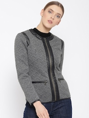 Fort Collins Grey Quilted Jacket