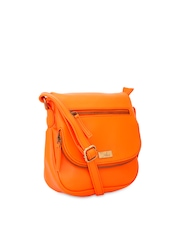 yelloe Orange Sling Bag