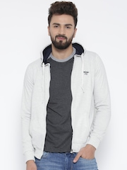Fort Collins Off-White Hooded Sweatshirt
