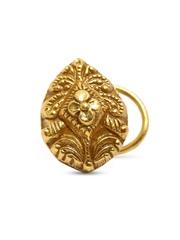 Fabindia Anusuya Gold-Plated Silver Nosepin