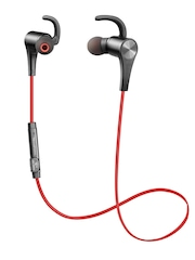 SoundPEATS Red & Black Q12 Bluetooth 4.0 Wireless In-Ear Earphones with Mic