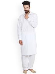 SOJANYA White Kurta Pyjama