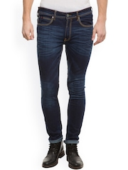 LOCOMOTIVE Men Blue Slim Fit Mid Rise Clean Look Jeans