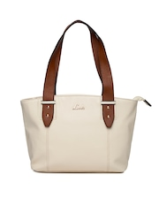 Lavie Cream-Coloured Shoulder Bag