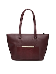 Lavie Maroon Shoulder Bag