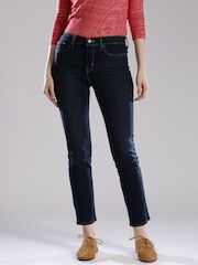 Levis Blue Shaping Slim Fit Jeans