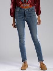 Levis Blue Skinny Fit Jeans
