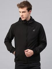 HRX by Hrithik Roshan Black Active Hooded Jacket