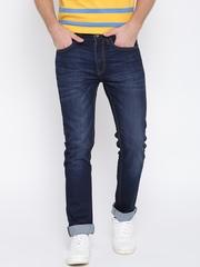 United Colors of Benetton Men Blue Slim Fit Mid-Rise Clean Look Jeans