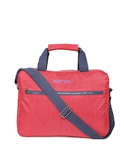 United Colors of Benetton Men Red Laptop Bag